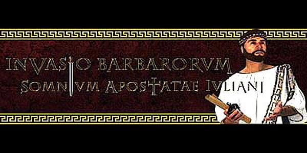 Invasio Barbarorum: Somnium Apostatae Iuliani