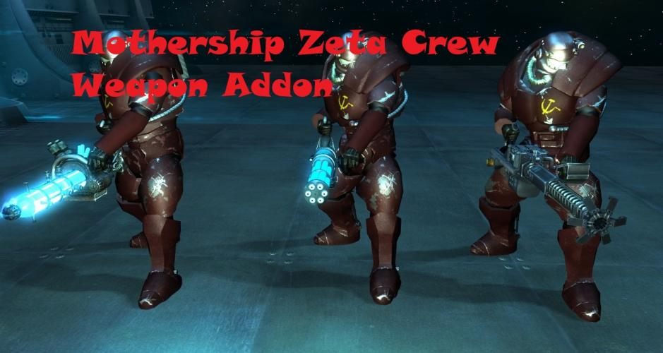Mothership Zeta Crew Weapon Addon