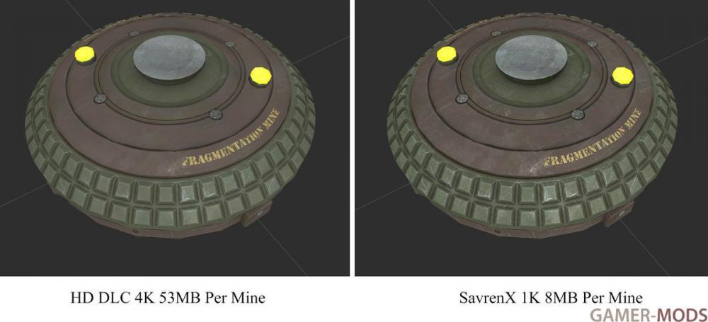 SavrenX Weapon HD DLC | Оружие в HD качестве