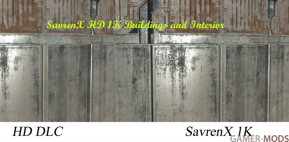SavrenX HD 1K Buildings and Interior