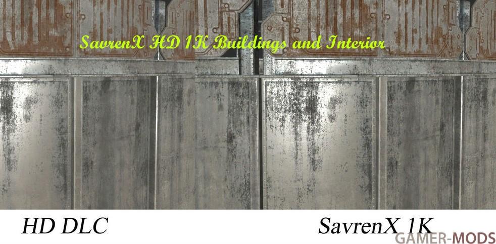 SavrenX HD 1K Buildings and Interior