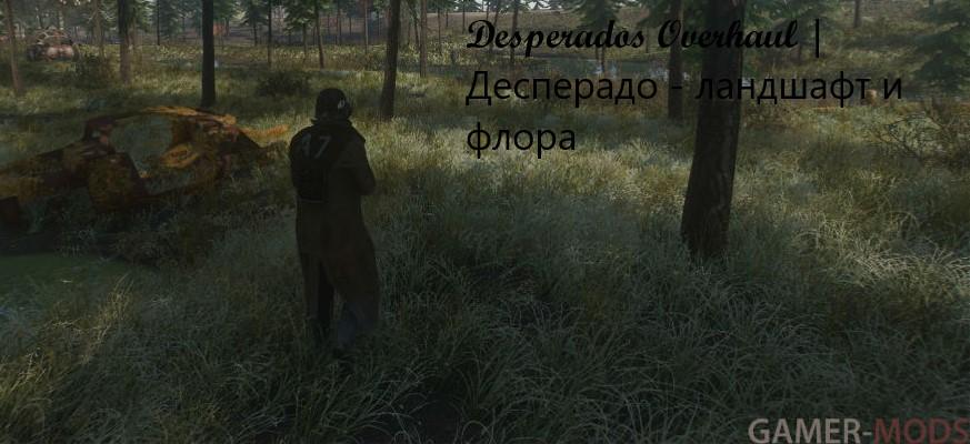 Desperados Overhaul | Десперадо - ландшафт и флора