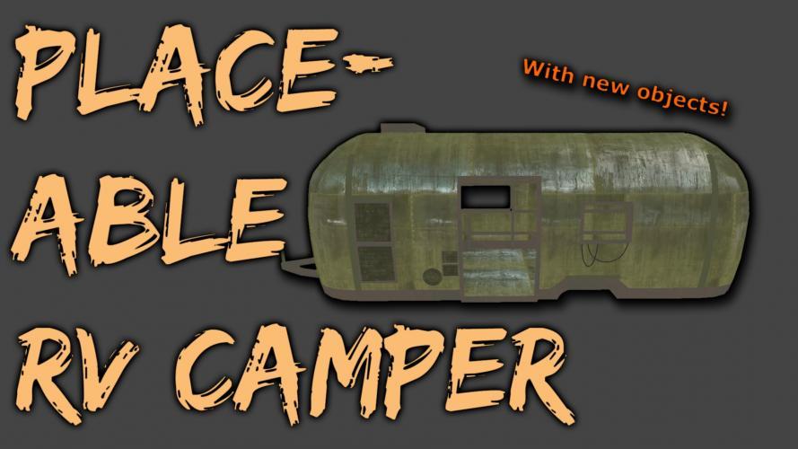 Размещаемые кемперы / Placeable Camper