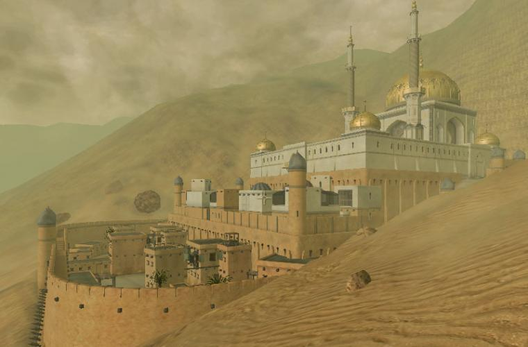 Elsweyr the Deserts of Anequina