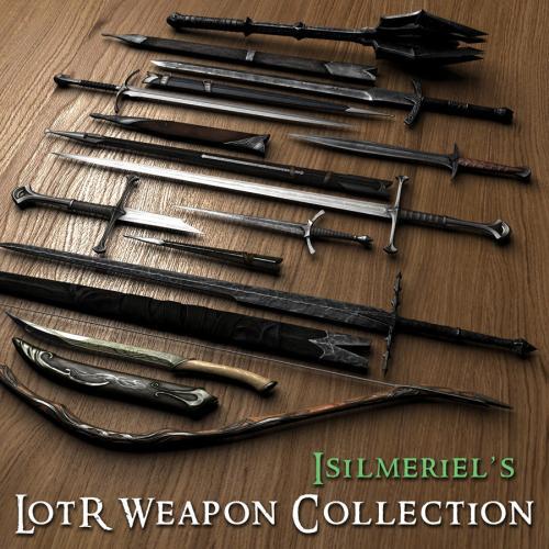 Набор оружия Властелин колец | Isilmeriel LOTR Weapons Collection