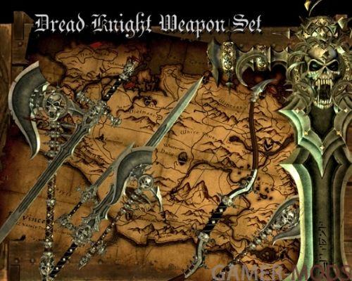 Оружие смерти и ужаса / Dread Knight Weapon Set