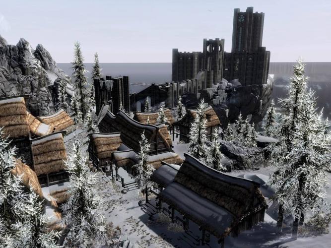 Реконструкция Винтерхолда от Qaxe / Qaxe's Winterhold Rebuild