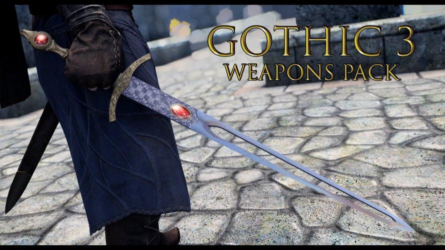 Оружие из Gothic 3