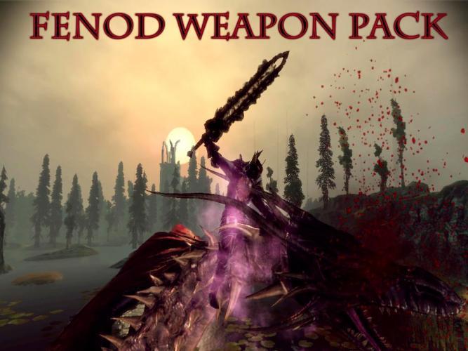 Fenod Weapon Pack / Комплект оружия Fenod'а
