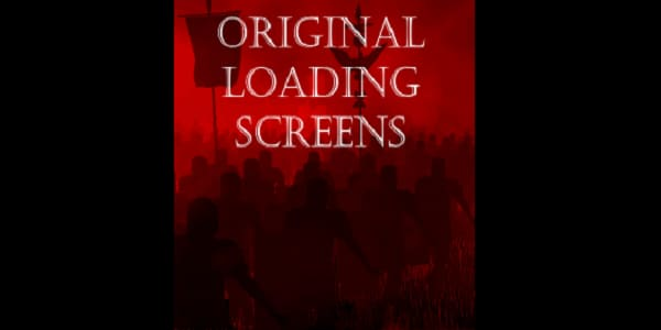 Original Loading Screens