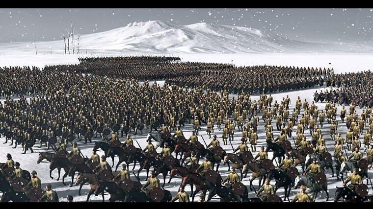 Larger historical battles