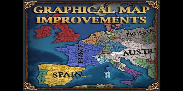 [EU4] Graphical Map Improvements