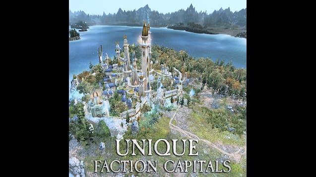 GCCM: Unique Faction Capitals