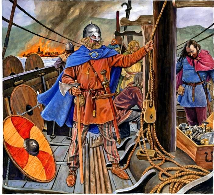 vikings middle ages thesis invasions vikings into england
