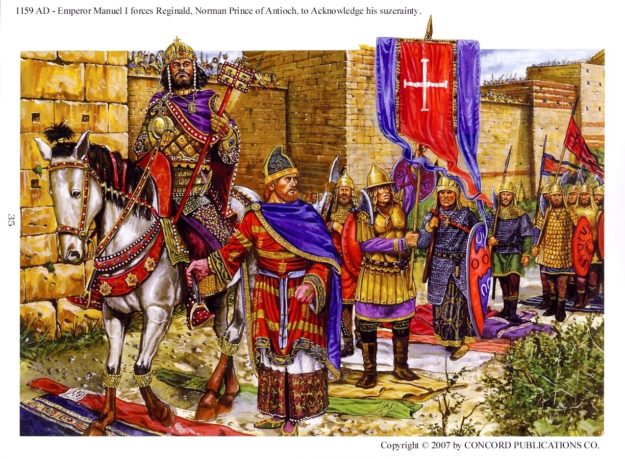 pictorial essays on the byzantine empire
